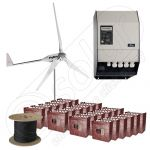 Kit la cheie cu turbina eoliana 6kW productie de energie si garantie eoliana de 3 ani