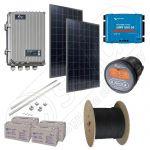 Kit solar la cheie cu panouri fotovoltaice 400W putere instalata cu manopera inclusa