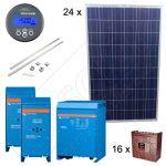 Kituri fotovoltaice off-grid pentru sistemele de irigatii de 6.75kW putere instalata si garantie panouri solare de 12 ani