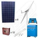 Kituri hibride eoliene de 3kW si fotovoltaice de 1.5kW putere instalata pentru sisteme de irigare