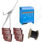 Sistem cu turbina eoliana cu montaj inclus la cheie cu putere instalata de 3kW