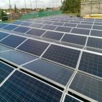 Sistem de montaj panouri fotovoltaice pentru acoperis plan de 4kW putere instalata