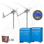 Sistem eolian 12kW putere instalata pentru irigatii in agricultura