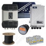 Sisteme la cheie cu panouri fotovoltaice 1kW putere instalata 3.3kWh media zilnica anuala cu montaj inclus