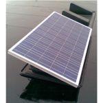 Structura montaj fotovoltaice pentru acoperisuri plate