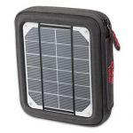 Geanta solara cu panou fotovoltaic Amp Solar cu baterie inclusa 4000mAm rezistent la apa si UV pret ieftin