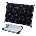Kit solar fotovoltaic portabil si generos pentru incarcare laptop si MacBooks de 17W cu baterie V88 pentru incarcare rapida pret ieftin