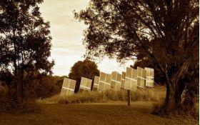 Sisteme fotovoltaice cu tracker Orizont Duo 1.2 KWpTracker solar cu structura din profil cu dublu ax, tracker ieftin pentru fotovoltaice, tracker suport pentru panouri fotovoltaice