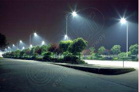 Stalp cu lampa LED pentru iluminat public LED-4M