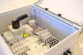 Cutie de conexiuni cu IP66 antiincendiu pentru panouri solare SERB-65 8