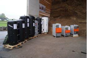 Cazan pe lemne cu gazeificare Idella Fire Wood 25 KW - IFW-GE 25