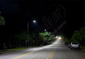 Stalp stradal de iluminat cu lampa cu LED-uri LED-6M 3