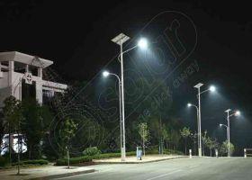 Stalpi de iluminat solar echipati complet PV-3M 5