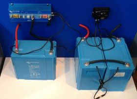 Sistem de back-up solar 800W 2
