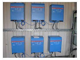 Invertoare panouri solare electrice Quattro 12V 5000W 220-110-100