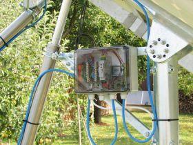 Tracker solar pentru panouri fotovoltaice, tracker solar fotovoltaic, tracker solar pentru acoperisuri
