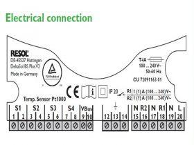 Microcontroler electronic solar DeltaSol® BS Plus