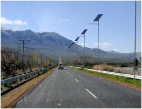 Stalpi fotovoltaici de iluminat solar