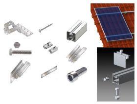 Kit 24 panouri fotovoltaice integrate in acoperis cu structura pentru 6kW