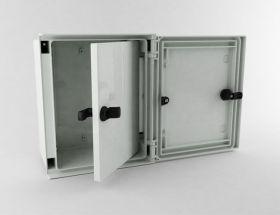 Cutie conexiuni pentru stalpi solari fotovoltaici SERB-43 4