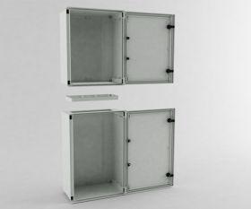 Cutie conexiuni pentru stalpi solari fotovoltaici SERB-43 2