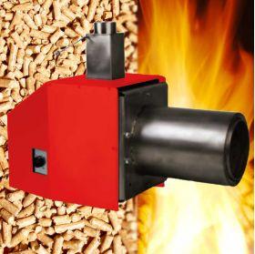 Arzator peleti, tehnologii de ardere