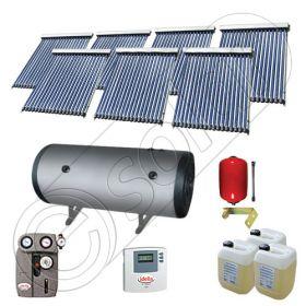 Seturi colectoare solare cu tuburi vidate si boiler, Panouri solare cu tuburi vidate import China, Set colectoare solare pentru apa calda SIU 7x18-1500.2BMH