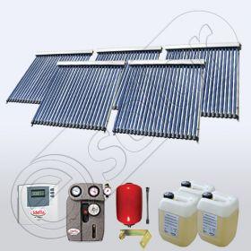 Colectoare solare apa menajera SIU 5x22, Pachet cu panouri solare cu tuburi vidate, Panouri solare apa calda menajera