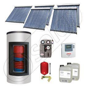 Set panouri solare ieftine cu boiler Kombi de 800/200 litri si doua serpentine, Seturi panouri solare Solariss Iunona, Pachet cu panou solar apa calda tot anul