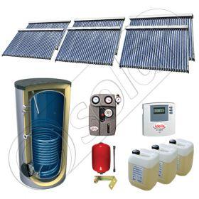 Set panouri solare cu tuburi vidate fabricate in China, Pachet panouri solare cu tuburi vidate si boiler 1500 litri, Set panouri solare ieftine cu tuburi vidate si boiler SIU 6x30-1500.1BM