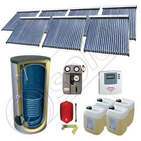 Solariss Iunona set panouri solare si boiler 1500 litri, Seturi panouri solare import China cu boiler SIU 7x22-1500.1BM, Seturi panouri solare cu tuburi vidate si boiler 1500 litri
