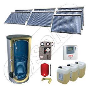 Seturi panouri solare import China cu boiler SIU 7x30-1500.1BM, Solariss Iunona set panouri solare si boiler 1500 litri, Seturi panouri solare cu tuburi vidate si boiler 1500 litri