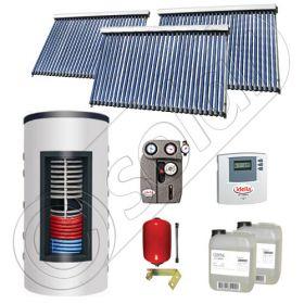 Panouri solare cu tuburi vidate import China, Seturi colectoare solare si boiler instant SIU 3x30-800.43.2BI, Set colectoare solare cu tuburi vidate si boiler instant 800 litri
