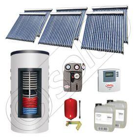 Panouri solare cu tuburi vidate import China, Seturi colectoare solare si boiler instant SIU 6x20-800.43.2BI, Set colectoare solare cu tuburi vidate si boiler instant 800 litri