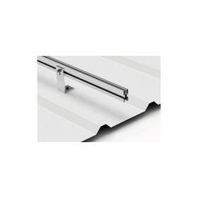 Cadru din aluminiu de inalta calitate pentru fixarea unui panou fotovoltaic pe verticala pe acoperisurile din tabla pret ieftin 4