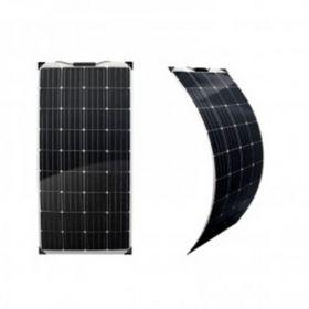 Kit solar pentru barci si autorulote cu un panou fotosensibil monocristalin flexibil 180W 12V, un regulator de incarcare solar PWM 20A 12V – 24V, conectori MC4 si caburile pentru punerea in functiune pret ieftin 4