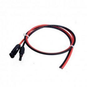 Kit cu cabluri premontate pentru sistemele autonome 180W 12V cu un regulator de incarcare MPPT 15A, un panou fotoelectric monocristalin 180W 12V si un acumulator 100Ah 12V pret ieftin 3