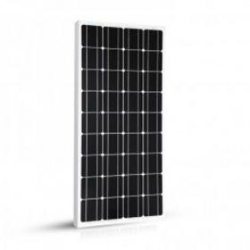 Kit solar 100W 12V pentru barci si autorulote cu un panou fotovoltaic monocristalin 100W 12V, un regulator de incarcare PWM 10A 12/24V si setul complet de cabluri si conectori pret ieftin 4