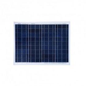 Kit solar 50W precablat pentru autorulote si barci cu un panou fotovoltaic policristalin 50W 12V, un regulator de incarcare PWM 10A 12/24V si sistem de fixare pret ieftin 4