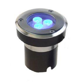 Proiector Doxa incastrat cu 3 LED-uri rezistent la trafic pietonal si auto usor pret ieftin