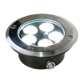 Proiector incastrat Doxa cu 5 LED-uri si protectie IP67 pret ieftin