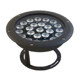 Proiector orientabil 24 LED-uri RGB cu driver DMX inclus pret ieftin