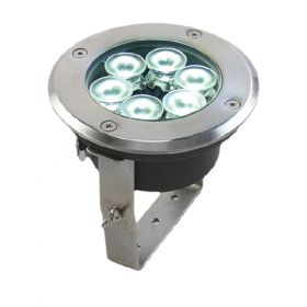 Proiector orientabil cu 6 LED-uri RGB 12V, 24V, 230V pentru iluminat gradini pret ieftin