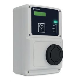 Statii de incarcare pentru masini hibride si electrice, 16A si 32A, cu sistem de plata contactless prin card RFID, utila pentru parcari acoperite, centre comerciale sau hoteluri pret ieftin