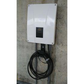 Statie de incarcare cu energie electrica compacta pentru masini electrice si hibride, 32A 22kw, ce poate fi instalata cu usurinta in garajul personal pret ieftin 2