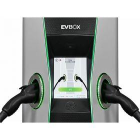 Statie electrica pentru masini hibride si masini electrice 22kW AC, ce poate fi montata in toate spatiile comerciale, atat in exterior cat si in interior, cu touchscreen intuitiv si usor de folosit pret ieftin 2