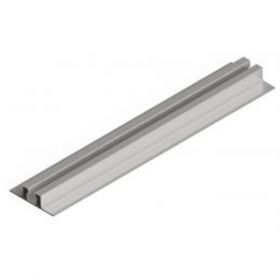 Structuri de prindere cu sina din aluminiu, de mici dimensiuni, pentru fixarea pe acoperis din tabla cutata a 2 panouri fotoelectrice monocristaline sau policristaline pret ieftin 2