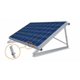 Brida de montare orizontala, brida de montare orizontala ce fixeaza panourile fotovoltaice, brida de montare orizontala  pret mic