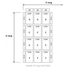 Cadru panou central pentru acoperis, cadru panou central ieftin, cadru panou pentru acoperis eficient