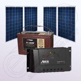 15.Kit fotovoltaic independent pentru casa 12V IPP200Wx4-Tarom235-35Ah-100Ah